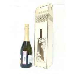 Коробка для вина с ручками большая