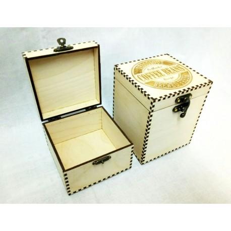 Коробка для кофе и чая маленькая